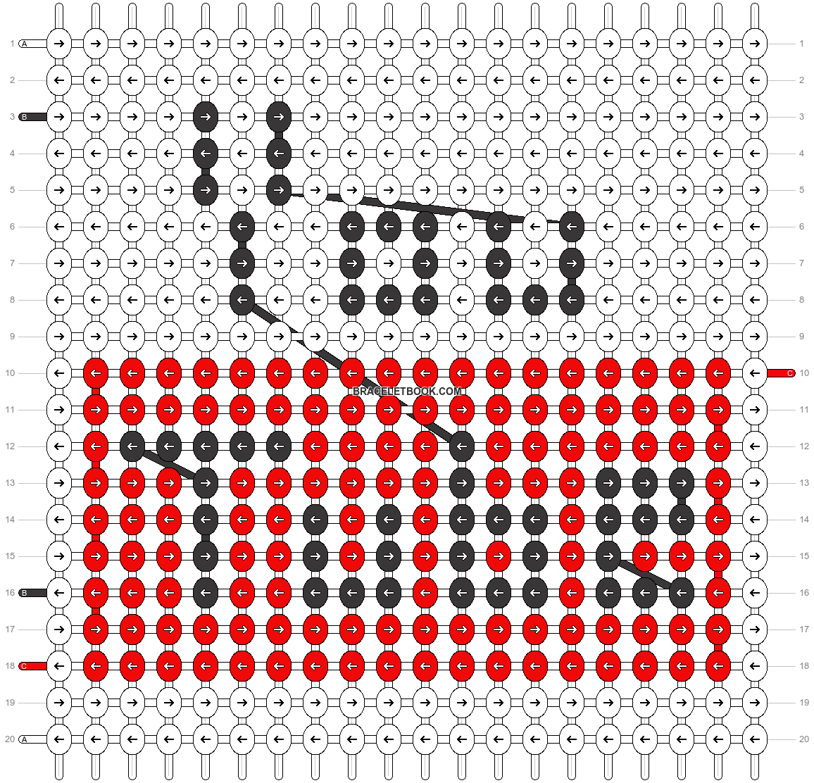 Alpha pattern #8863 pattern