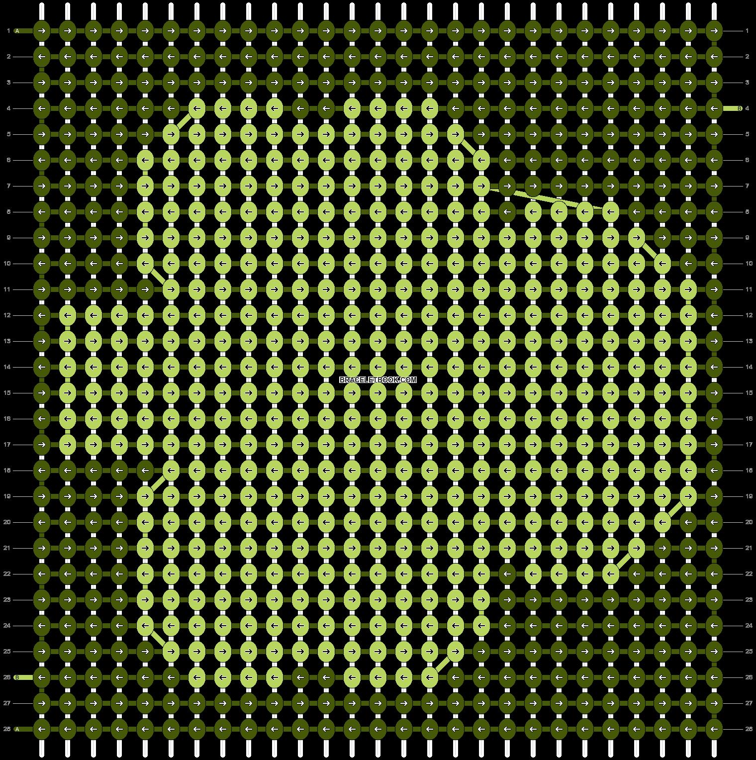 Alpha pattern #8866 pattern