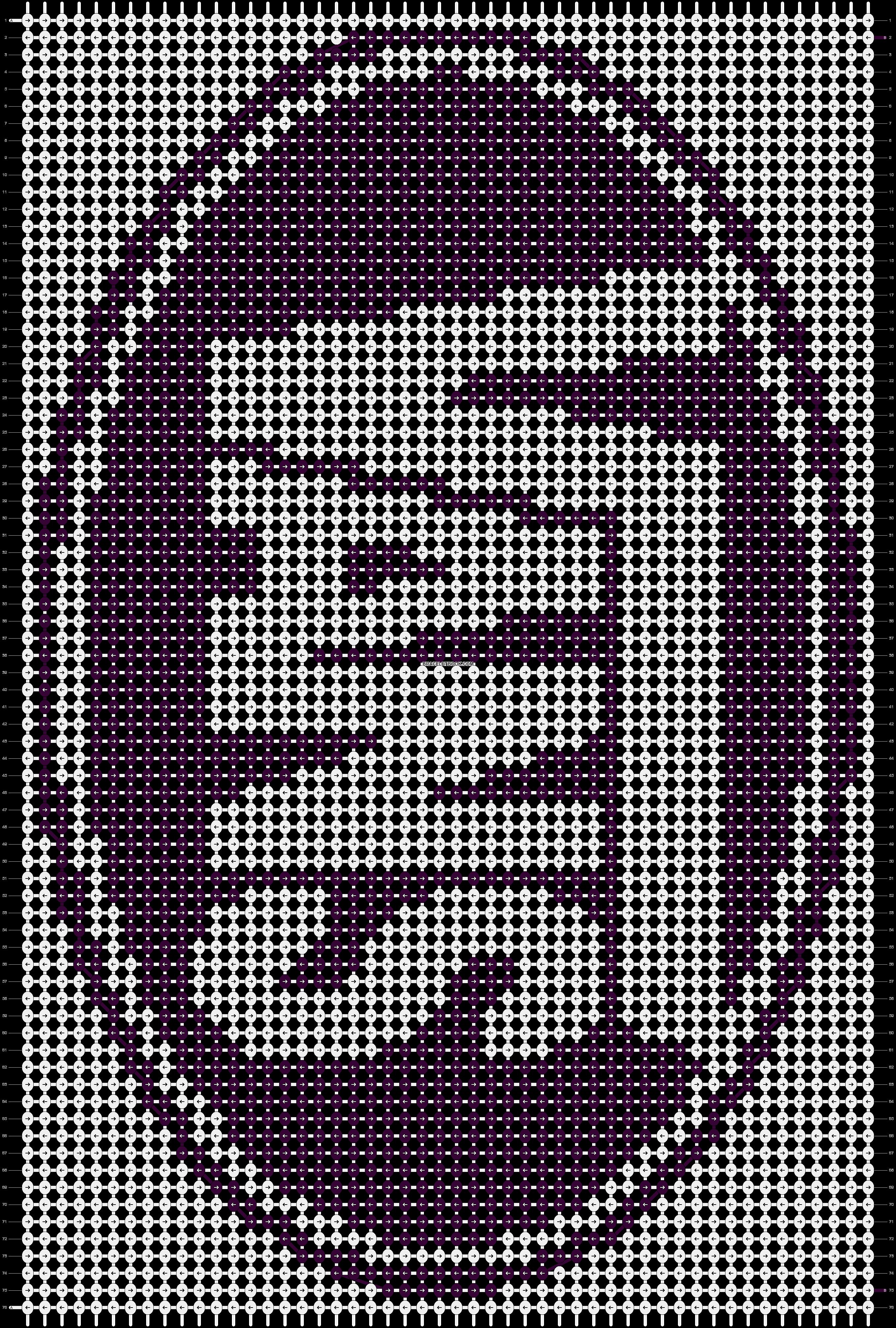 Alpha pattern #8874 pattern