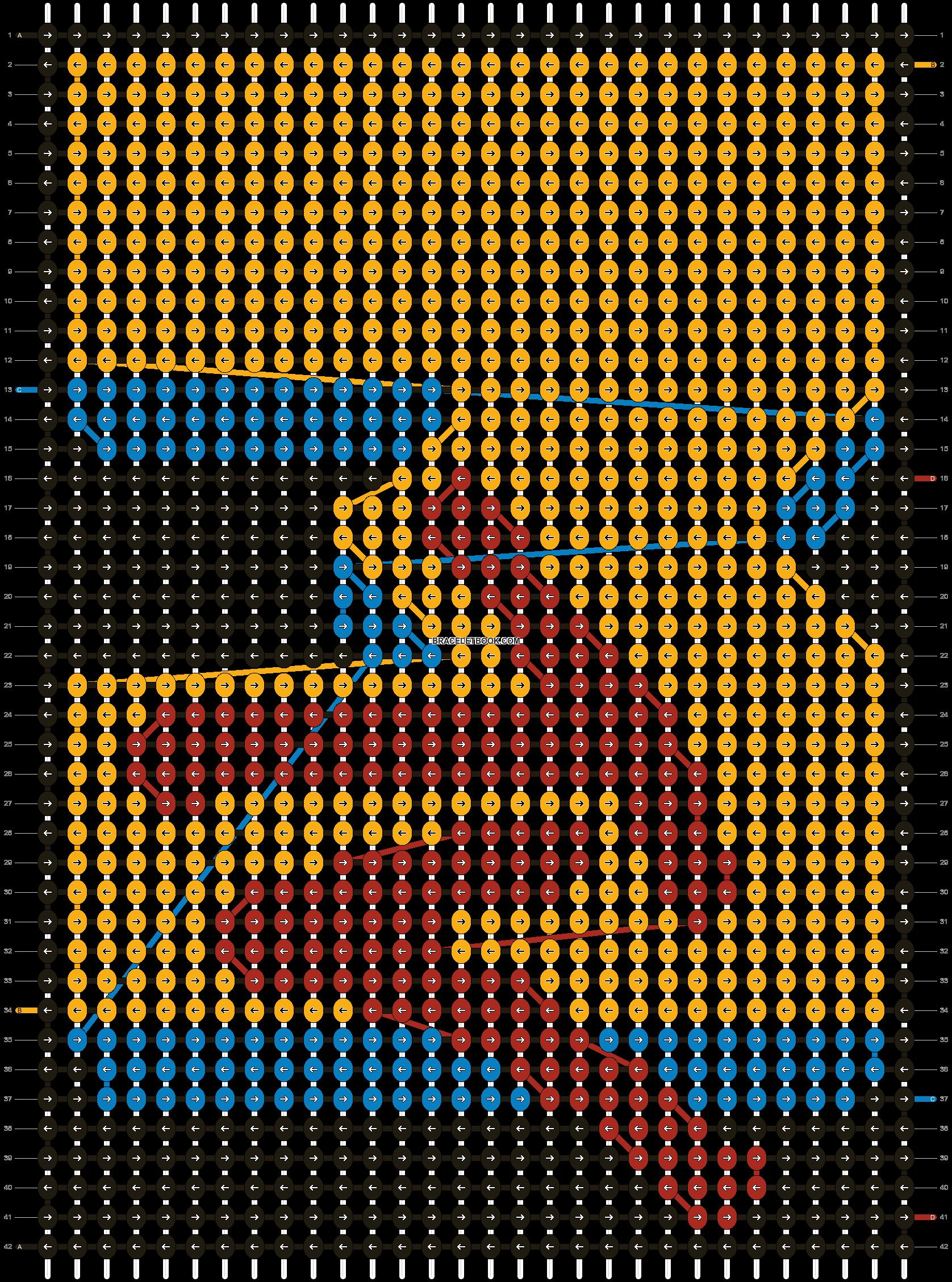 Alpha pattern #8875 pattern