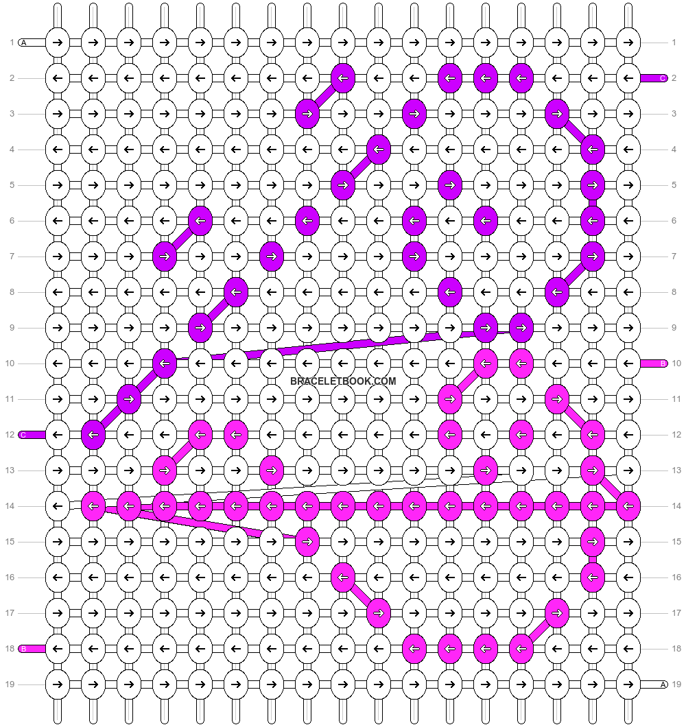 Alpha pattern #8878 pattern