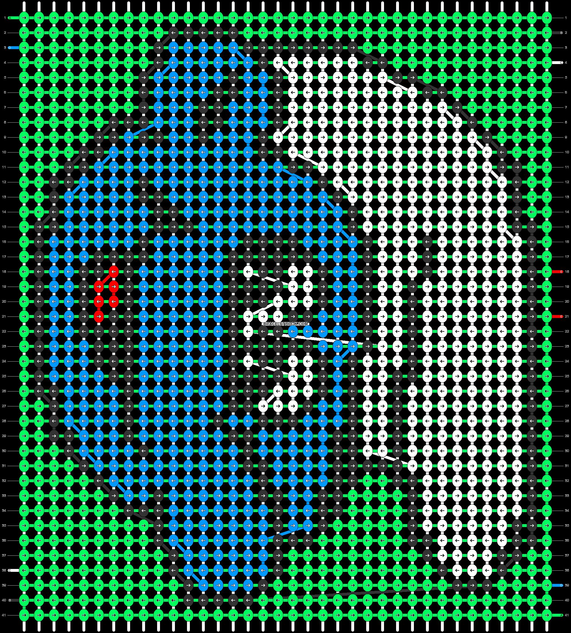 Alpha pattern #8879 pattern