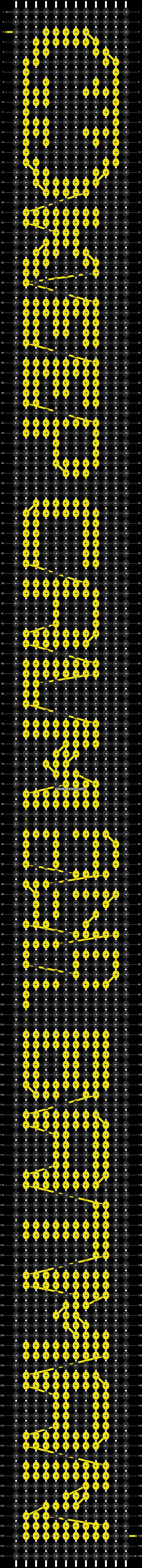 Alpha pattern #8880 pattern