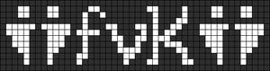 Alpha pattern #8883