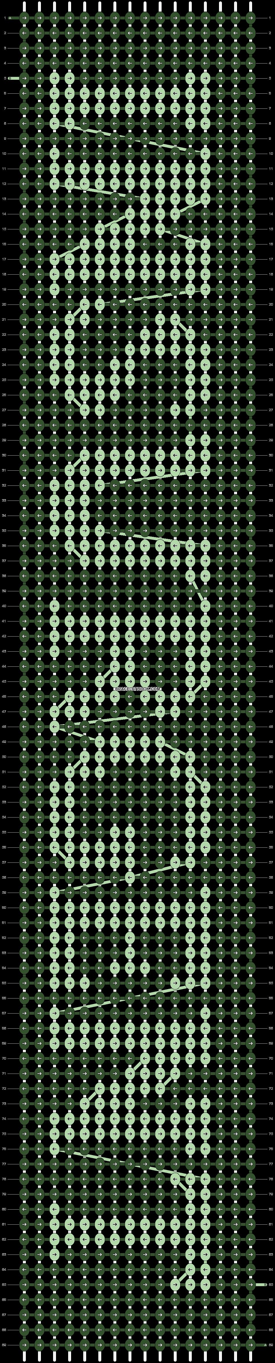 Alpha pattern #8884 pattern
