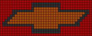Alpha pattern #8890