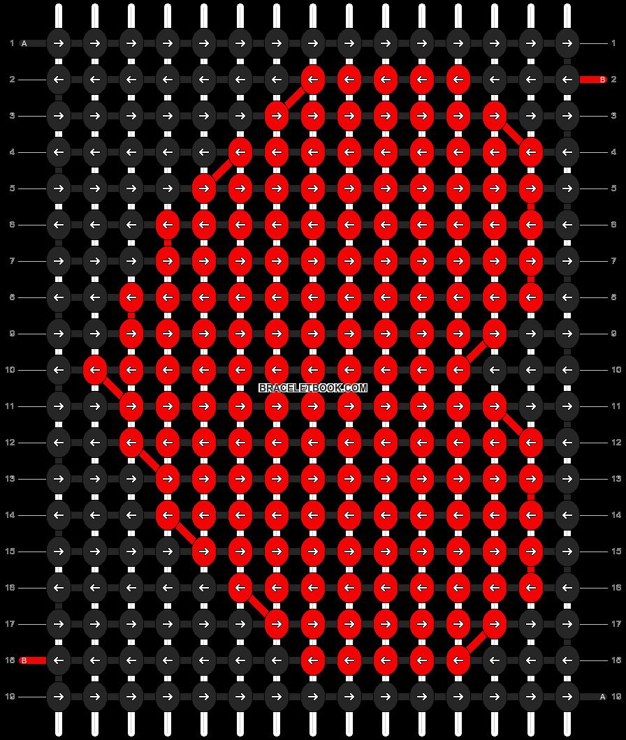 Alpha pattern #8893 pattern