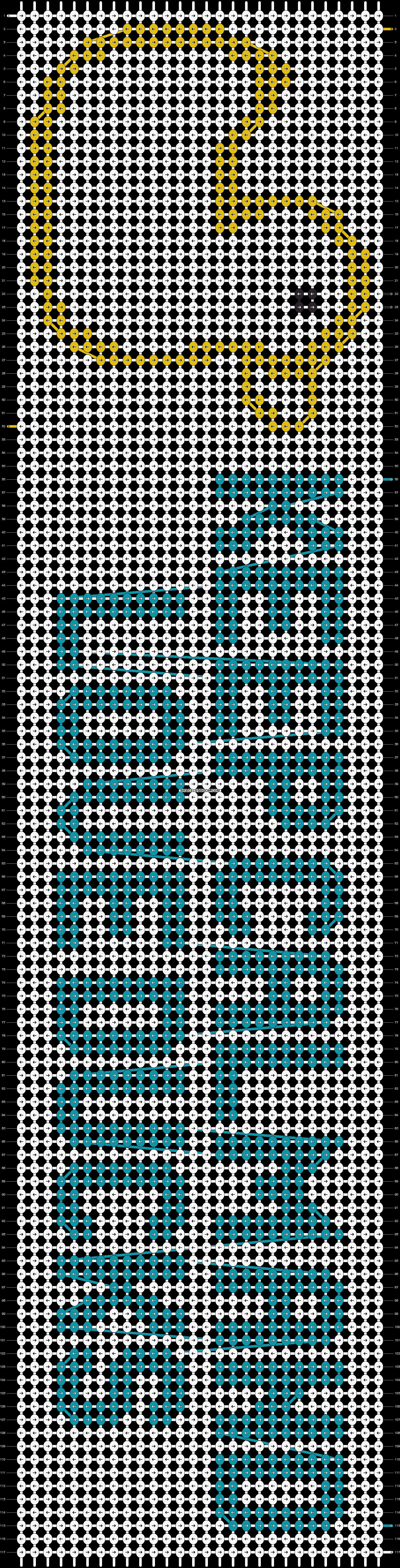 Alpha pattern #8908 pattern