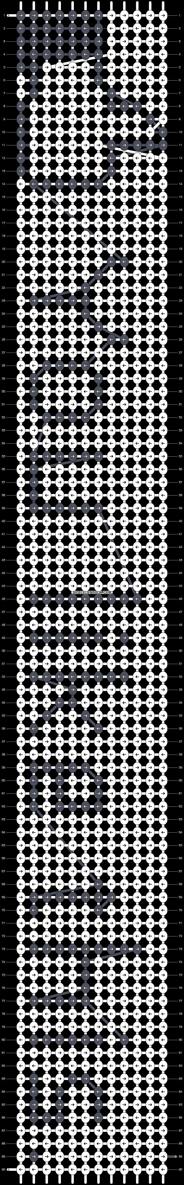 Alpha pattern #8911 pattern