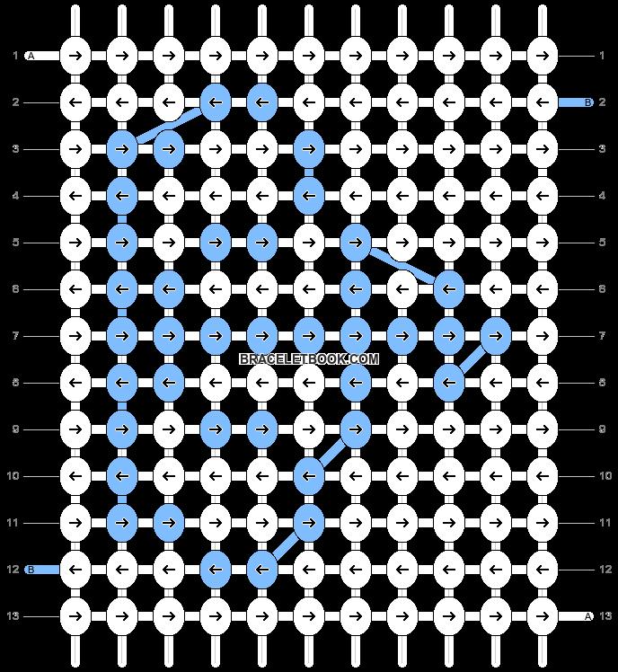 Alpha pattern #8918 pattern