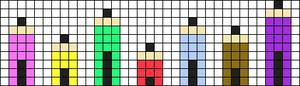 Alpha pattern #8933