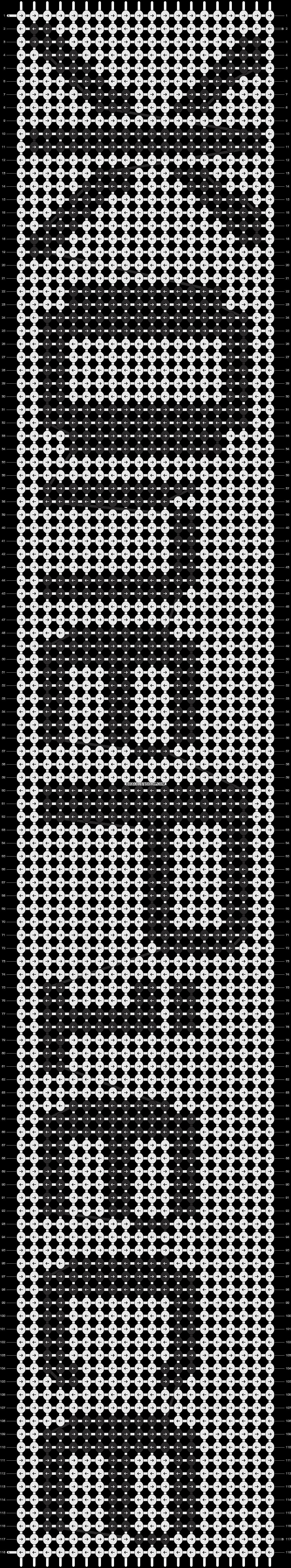 Alpha pattern #8935 pattern