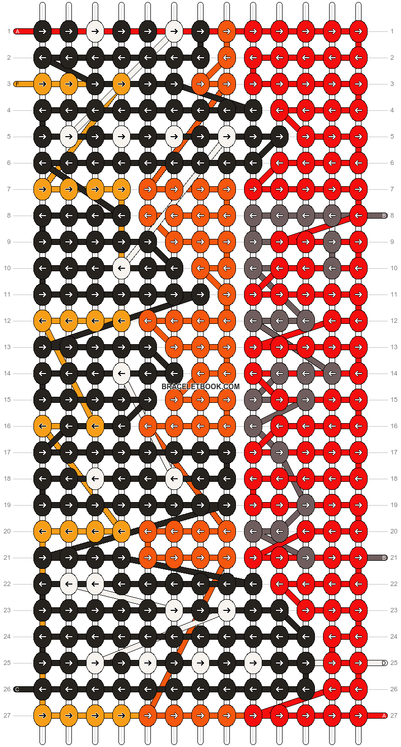Alpha pattern #8944 pattern