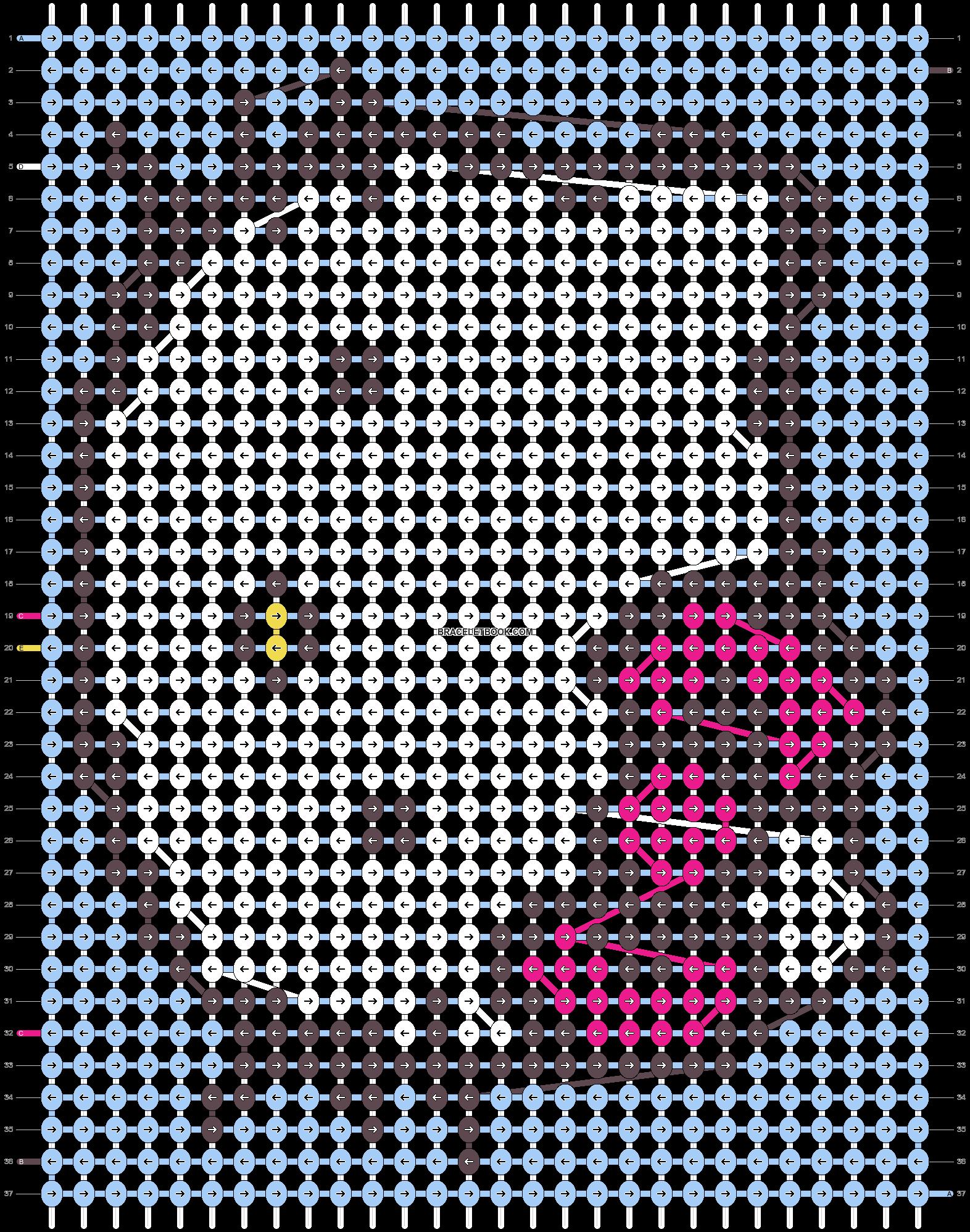 Alpha pattern #8947 pattern