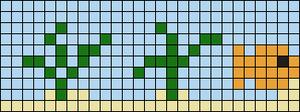 Alpha Friendship Bracelet Pattern #8950