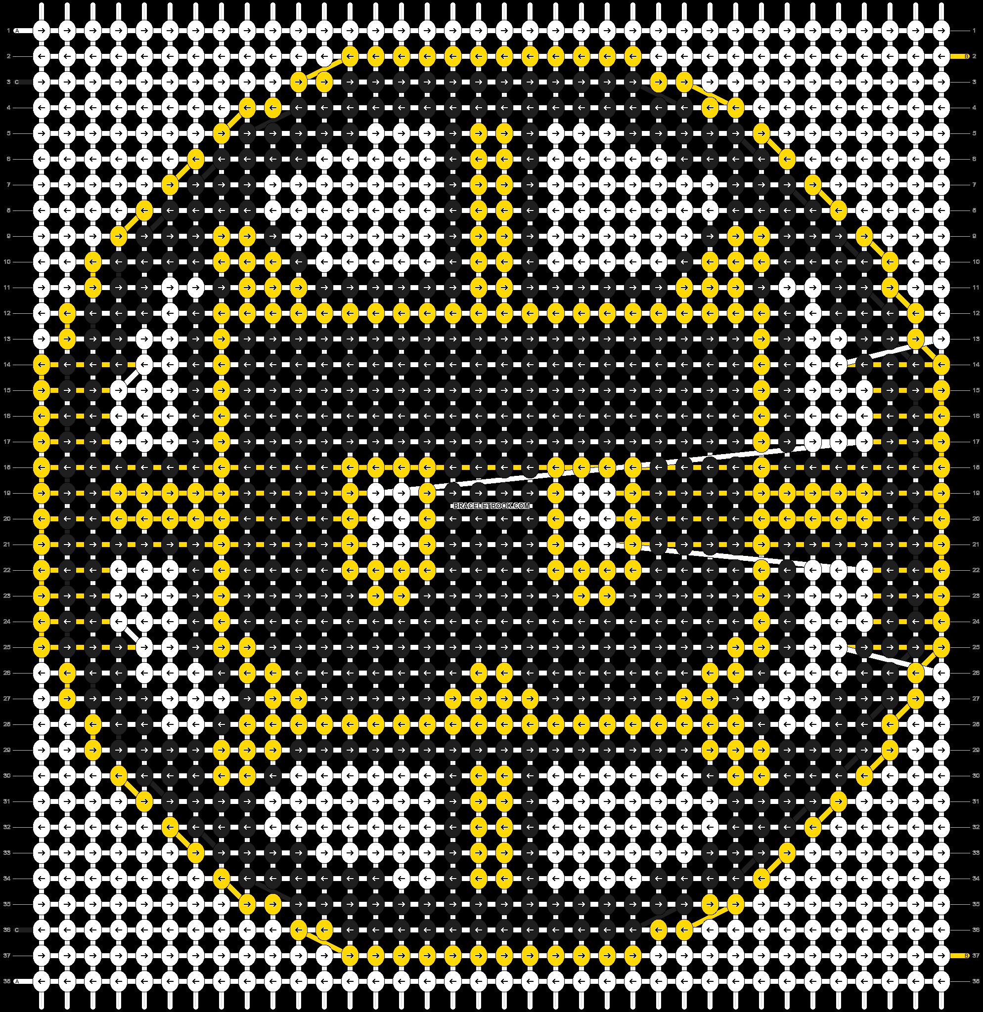 Alpha pattern #8951 pattern