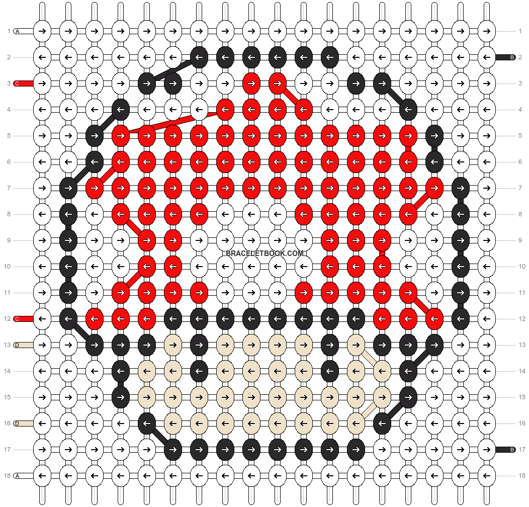 Alpha pattern #8957 pattern