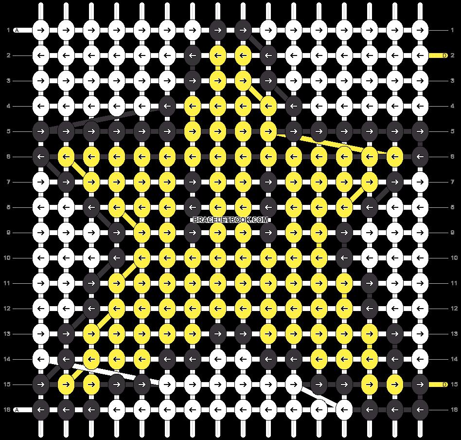 Alpha pattern #8964 pattern