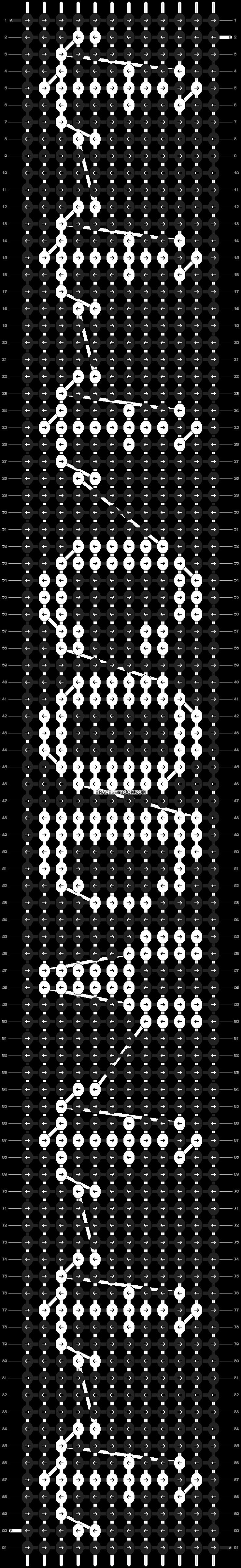 Alpha pattern #8967 pattern