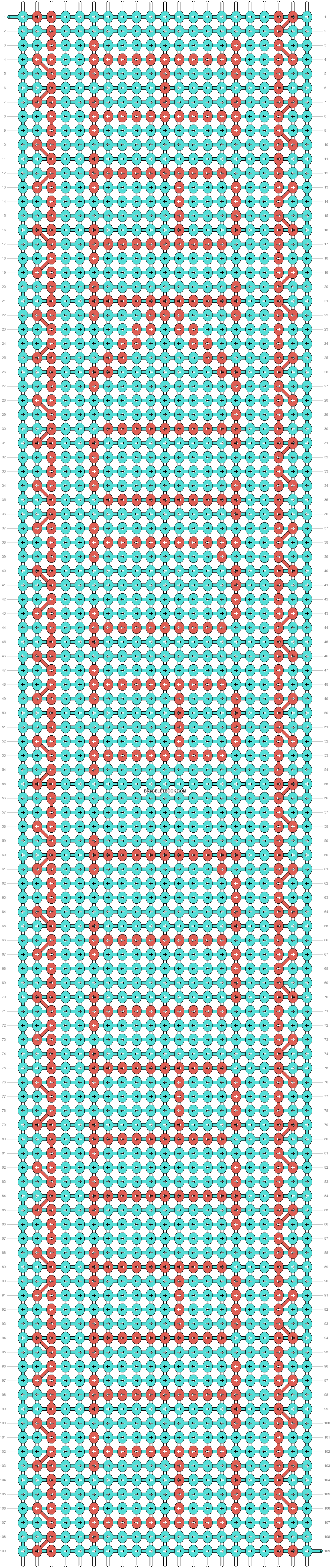 Alpha pattern #8975 pattern