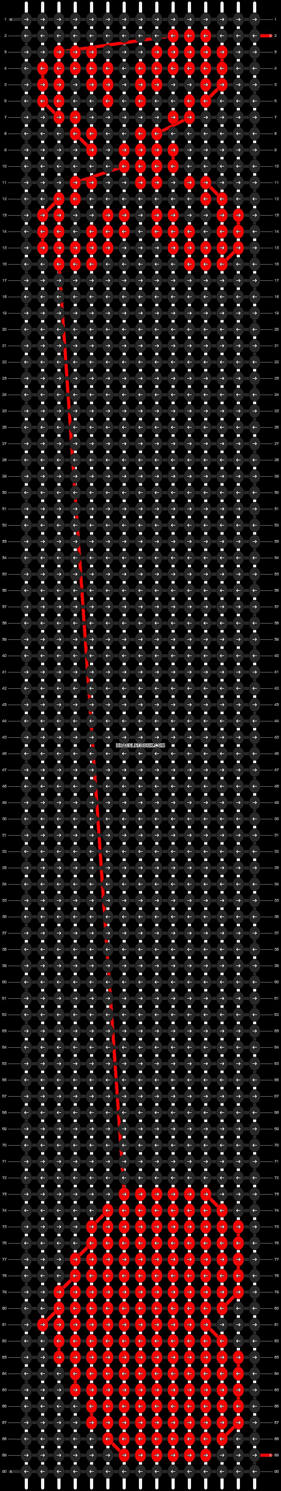 Alpha pattern #8978 pattern
