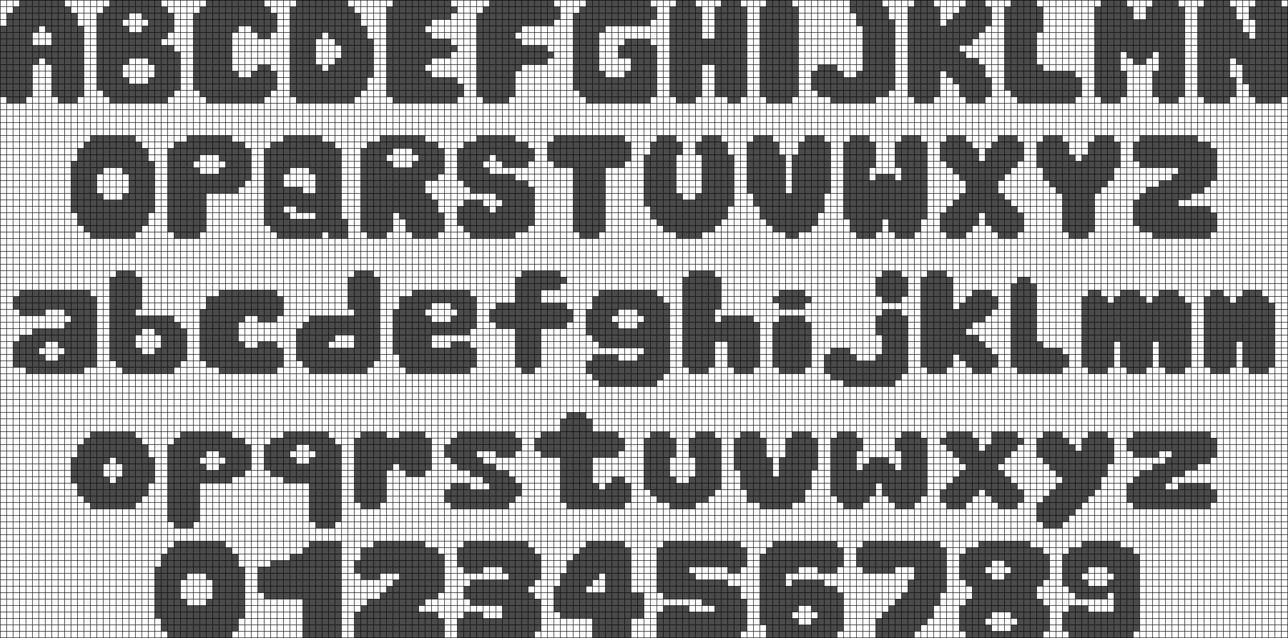 Alpha pattern #8980 preview