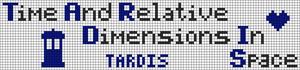 Alpha Friendship Bracelet Pattern #8981