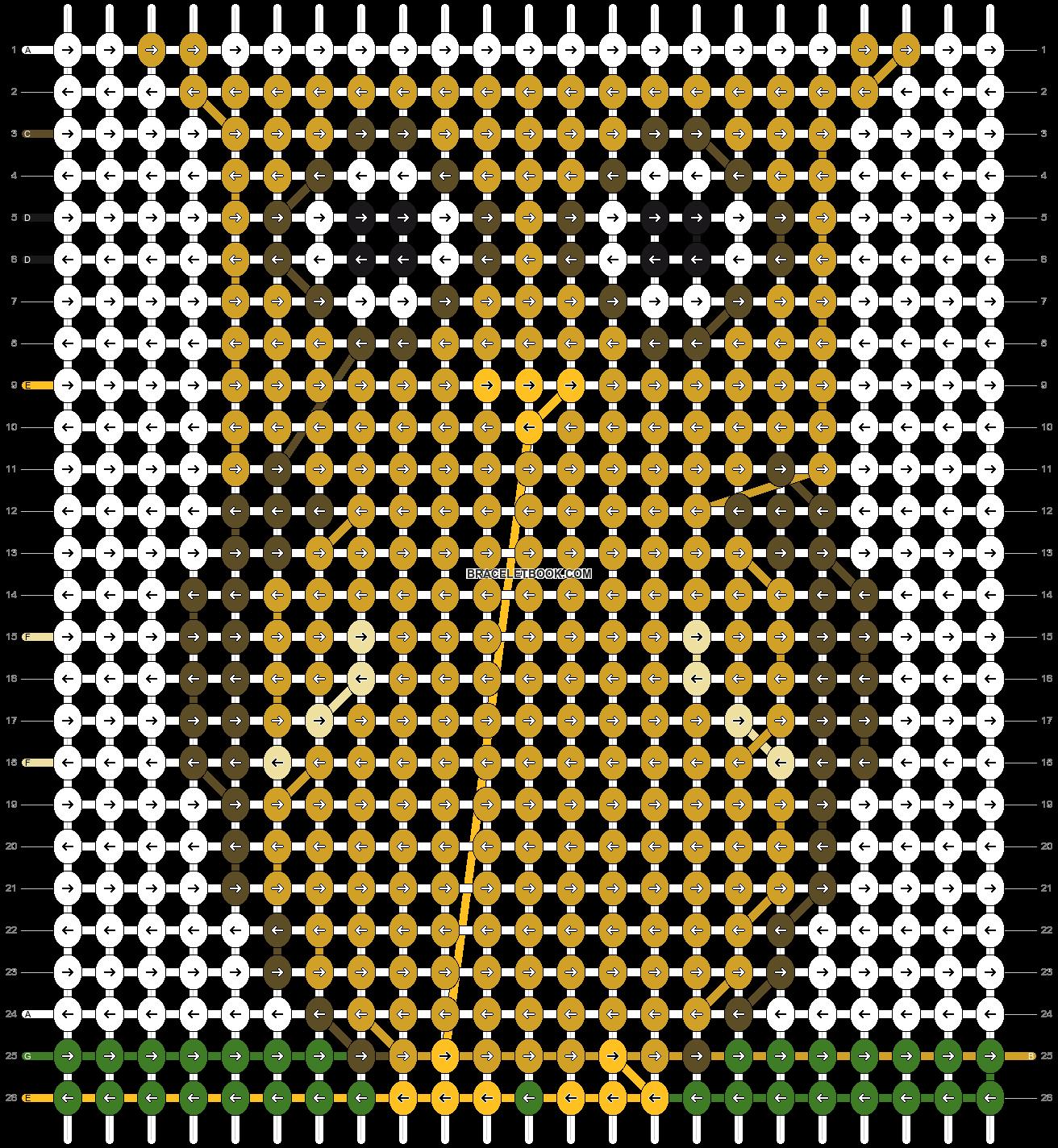 Alpha pattern #8983 pattern