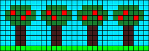 Alpha pattern #8987