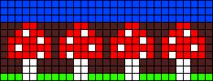 Alpha pattern #8989