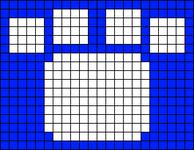 Alpha pattern #8999