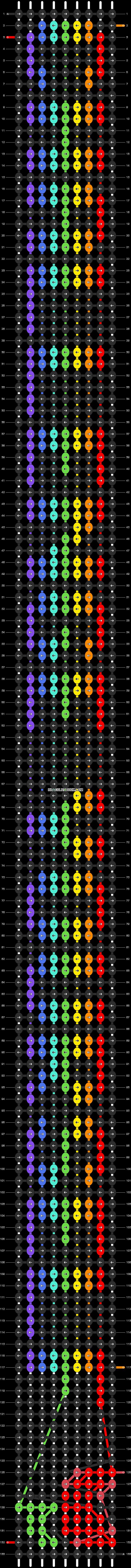 Alpha pattern #9002 pattern