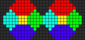 Alpha pattern #9007