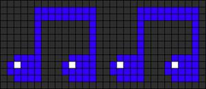 Alpha pattern #9008