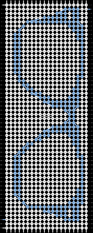 Alpha pattern #9017 pattern