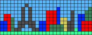 Alpha pattern #9019