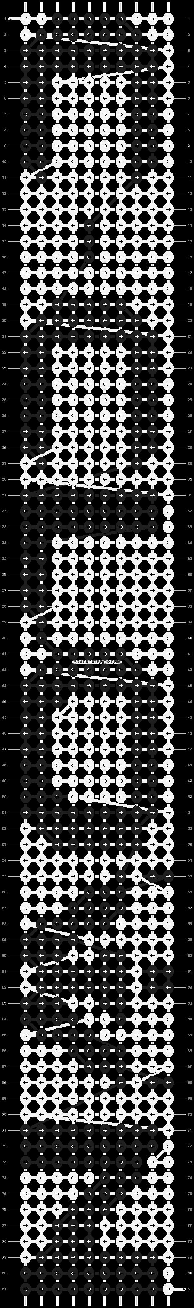 Alpha pattern #9020 pattern