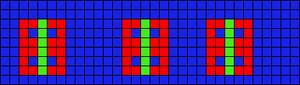 Alpha pattern #9024