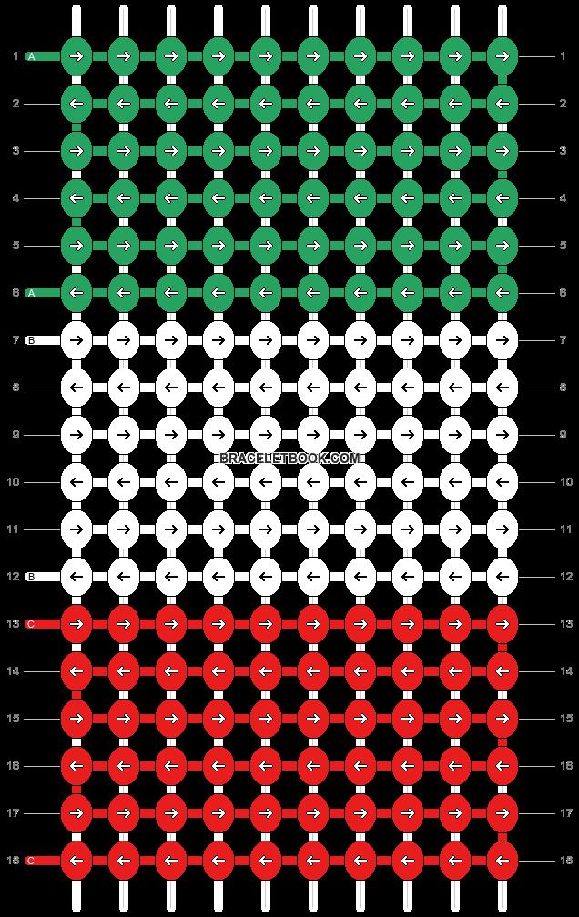 Alpha pattern #9033 pattern