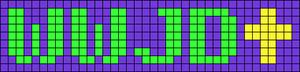 Alpha pattern #9042
