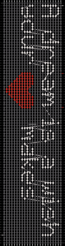 Alpha pattern #9052 pattern