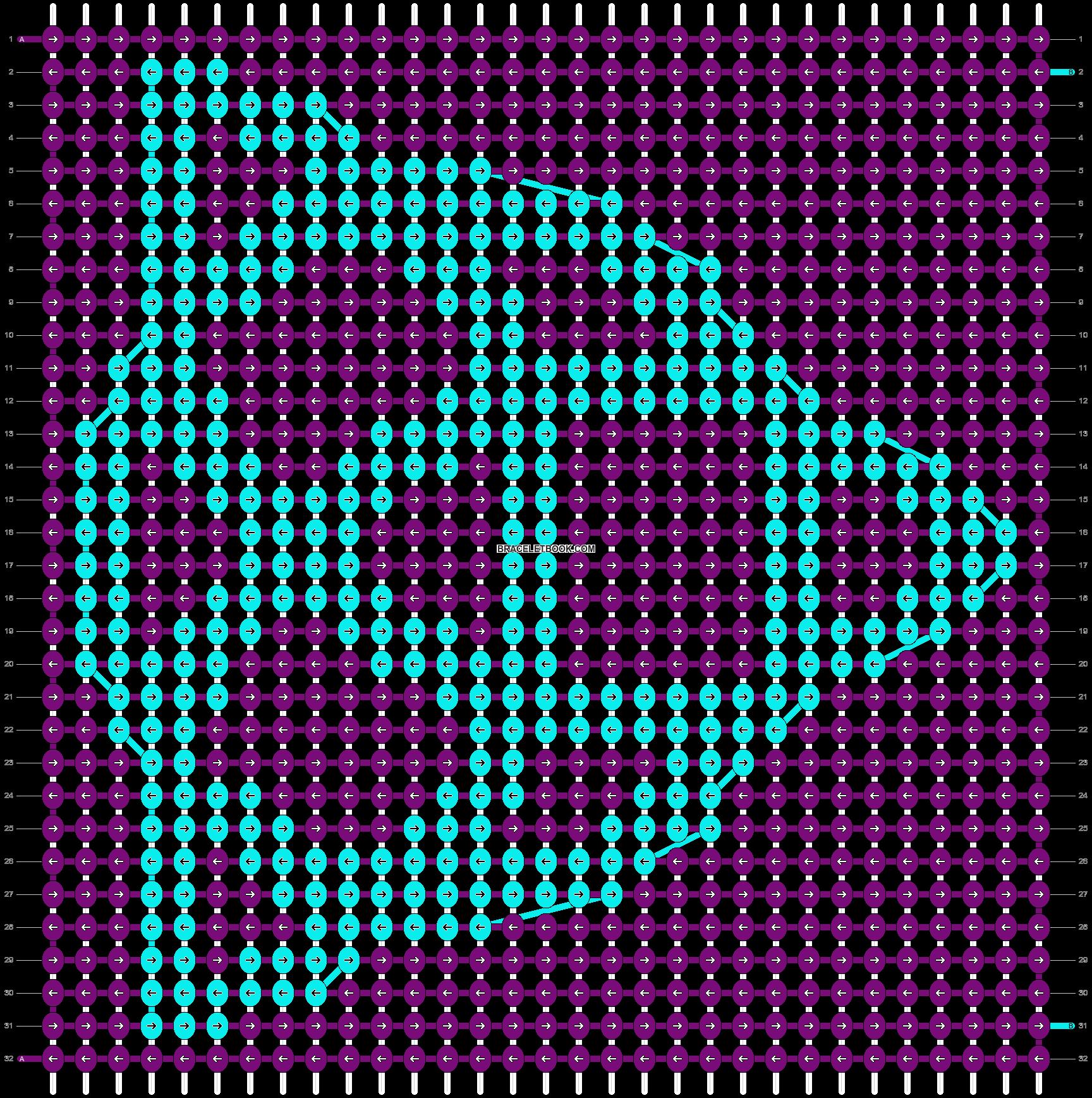 Alpha pattern #9055 pattern