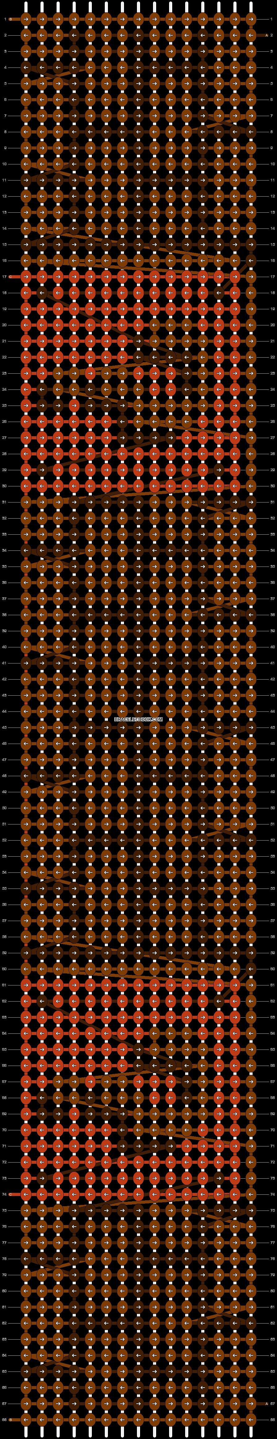 Alpha pattern #9057 pattern