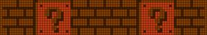 Alpha Friendship Bracelet Pattern #9057