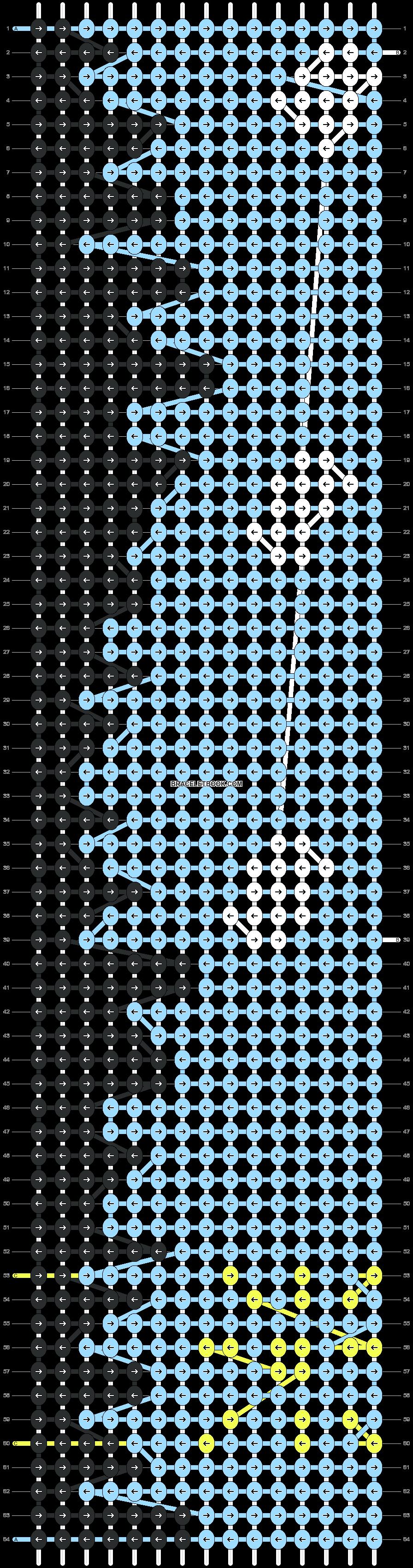 Alpha pattern #9071 pattern