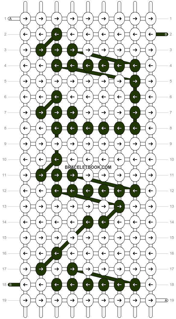 Alpha pattern #9077 pattern