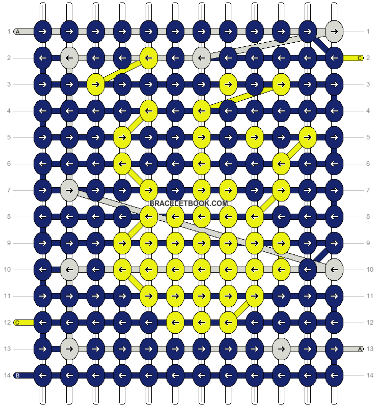 Alpha pattern #9080 pattern