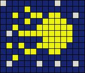 Alpha pattern #9080
