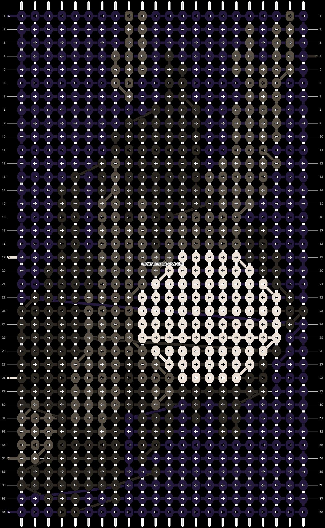 Alpha pattern #9083 pattern