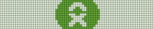 Alpha pattern #9087